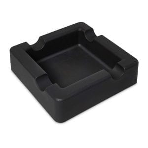 Black Cigar Ashtray Accessories Silicone